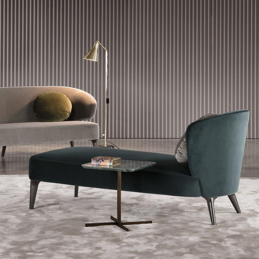 Meubles Minotti minotti aston cord lounge chair orange skin
