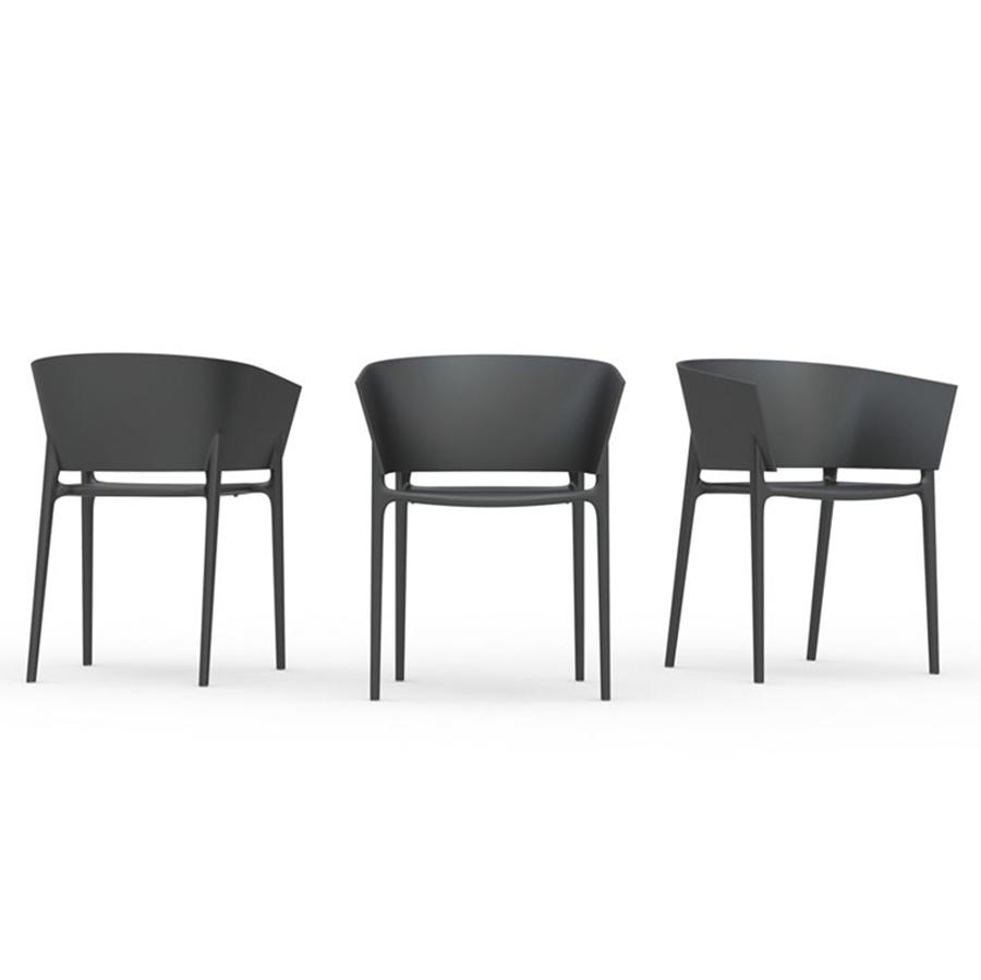 Africa Chair Designed By Eugeni Quitllet Vondom Orange