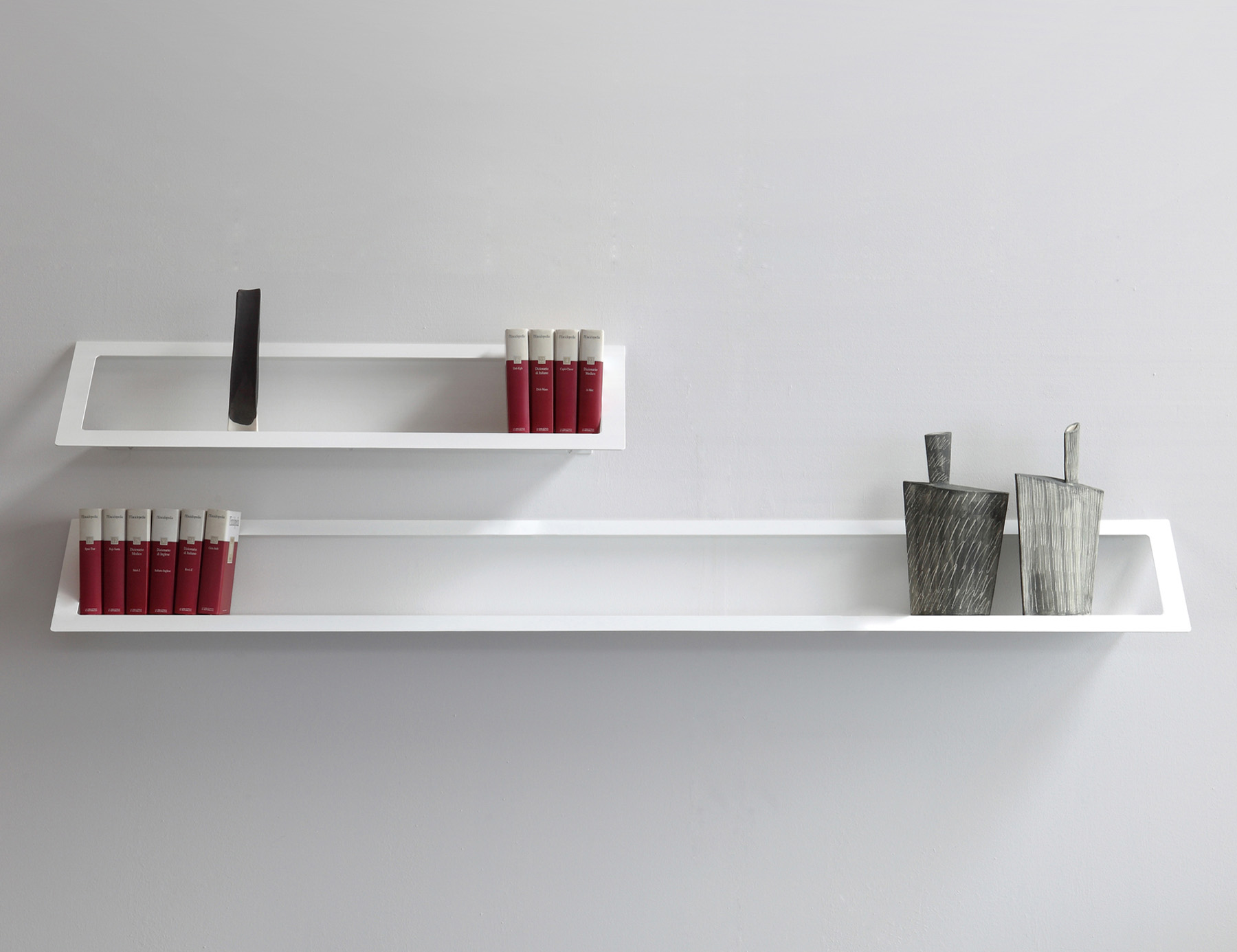 Air Shelf Designed By Maurizio Peregalli Zeus Orange Skin