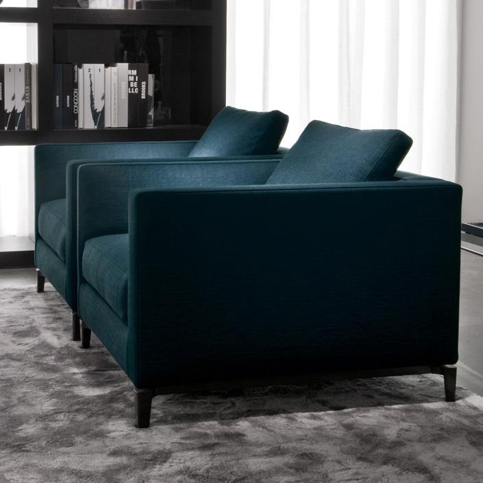 Minotti Andersen Sofa Leather Sectional Sofa