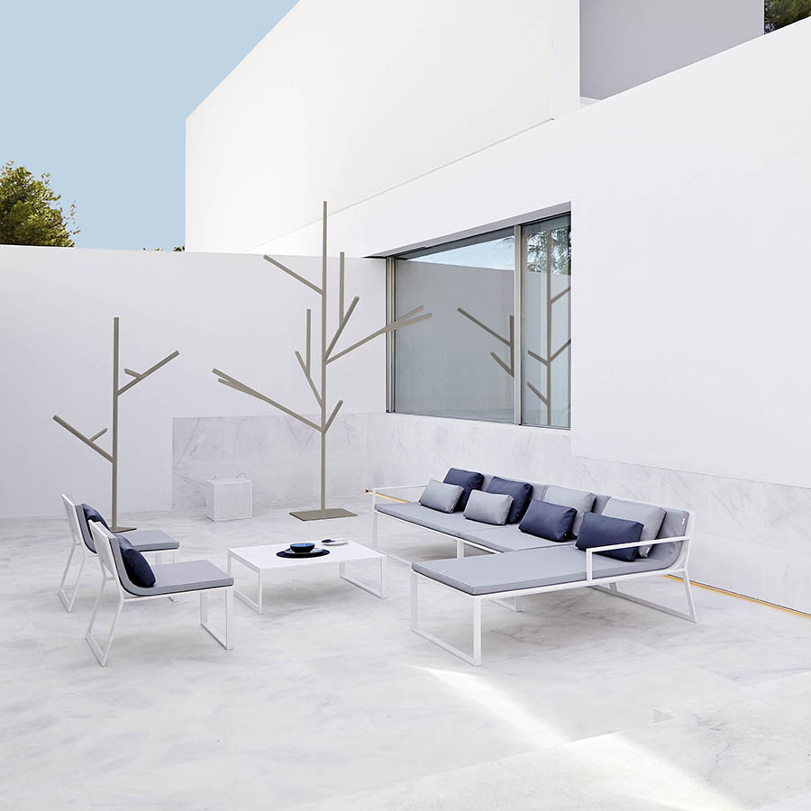 blau sofa by fran silvestre gandia blasco orange skin. Black Bedroom Furniture Sets. Home Design Ideas