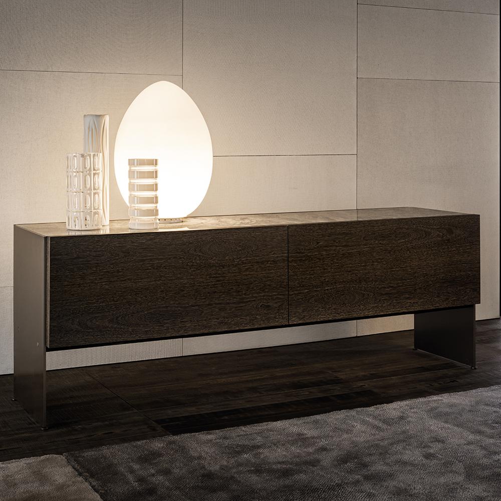 Carson Designed By Rodolfo Dordini Minotti Orange Skin