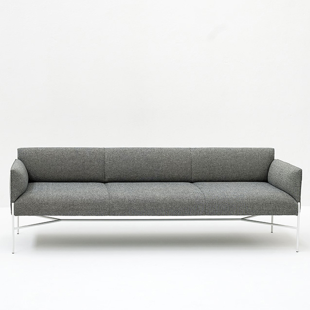 chill out sofa designed by gordon guillaumier tacchini orange skin. Black Bedroom Furniture Sets. Home Design Ideas