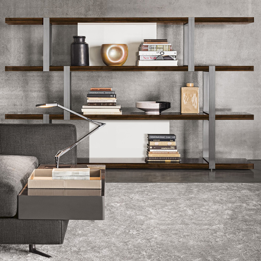 Terrific Dalton Bookcase Designed By Rodolfo Dordoni Minotti Gmtry Best Dining Table And Chair Ideas Images Gmtryco