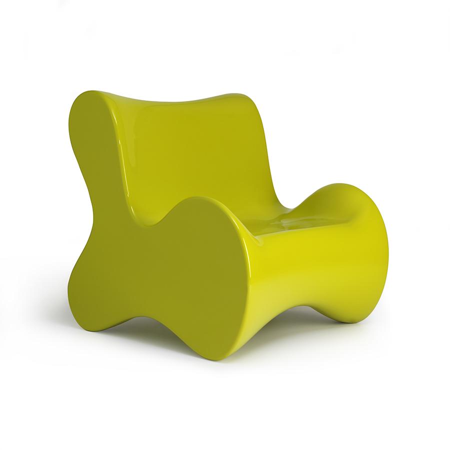 Karim Rashid Furniture Doux Lounge Chair Designed By Karim Rashid Vondom Orange Skin
