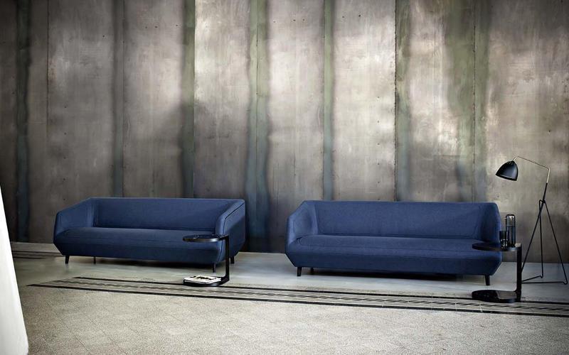 Dressed Sofa Designed By Luca Nichetto Tacchini Orange