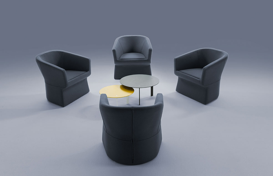 Fedele Armchair Designed By Victor Carrasco Viccarbe