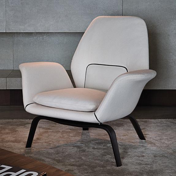Gilliam Armchair Designed By Rodolfo Dordoni Minotti