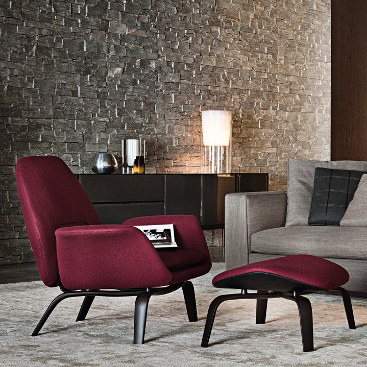 Gilliam Armchair Designed By Rodolfo Dordoni Minotti