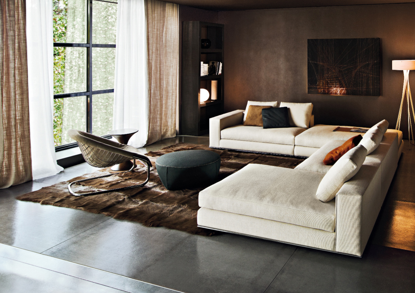 Hamilton Sofa Designed By Rodolfo Dordoni Minotti