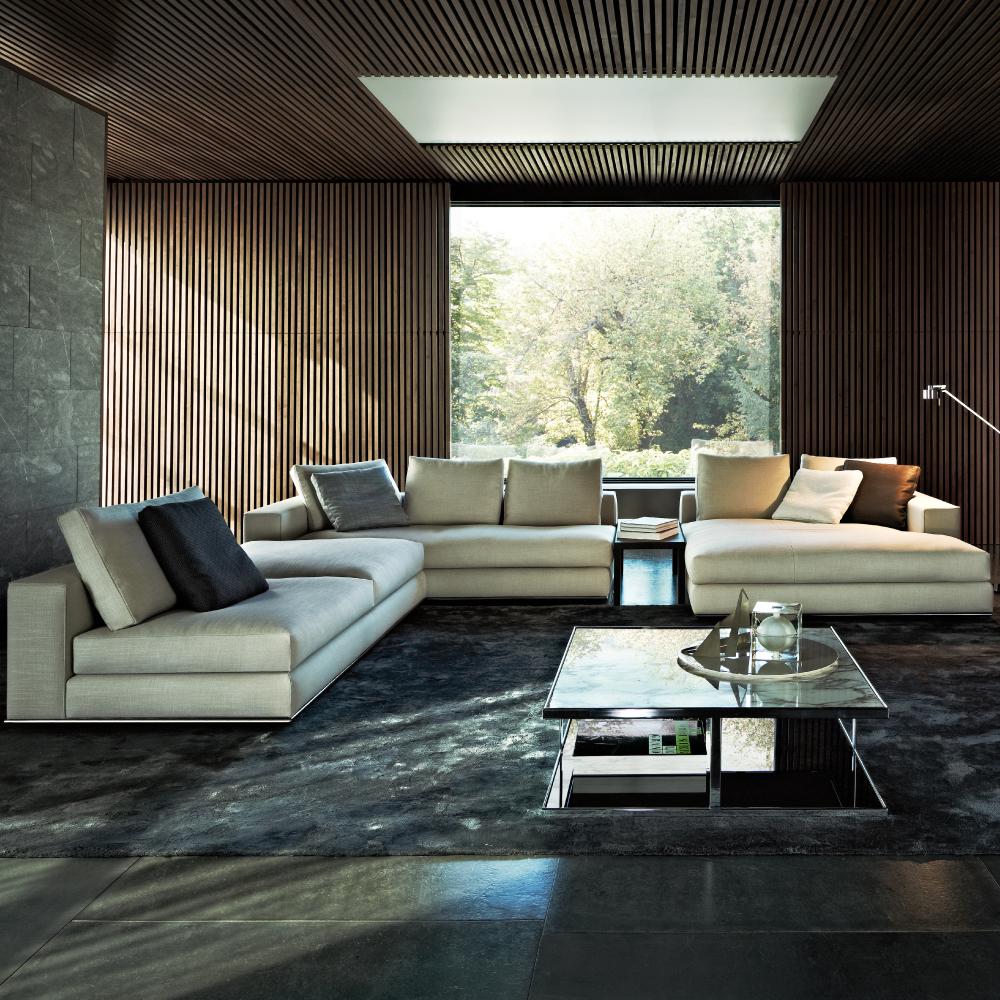 Terrific Hamilton Sofa Designed By Rodolfo Dordoni Minotti Orange Caraccident5 Cool Chair Designs And Ideas Caraccident5Info