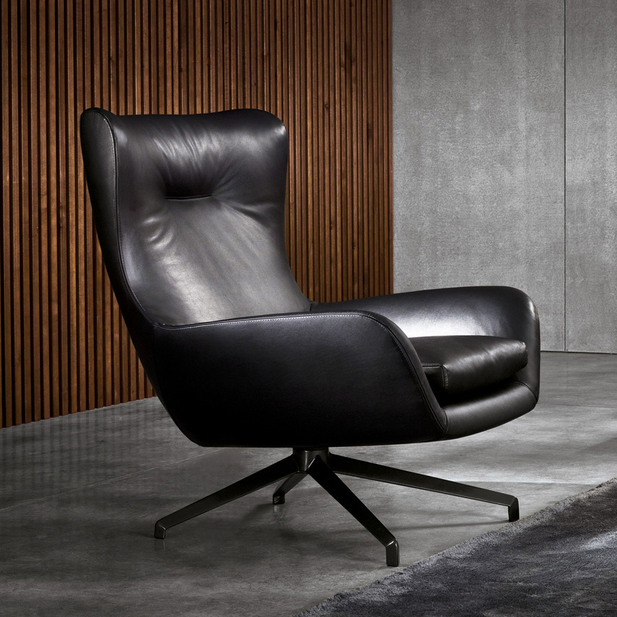 Jensen Bergere Lounge Chair Designed By Rodolfo Dordoni