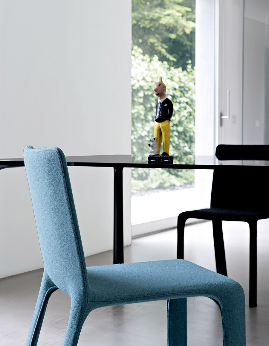 Joko Chair Designed By Bartoli Design Kristalia Orange