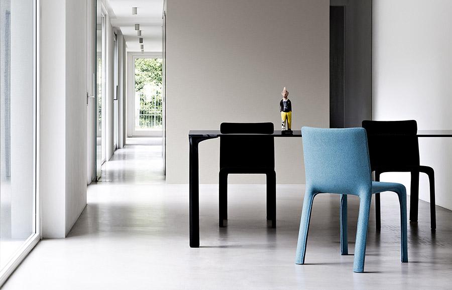 Joko Chair Designed By Bartoli Design Kristalia Orange
