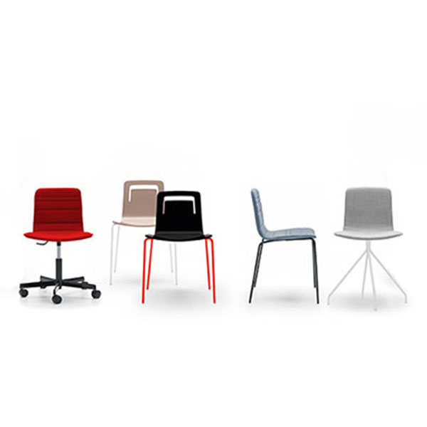 Klip Chair Designed By Victor Carrasco Viccarbe Orange