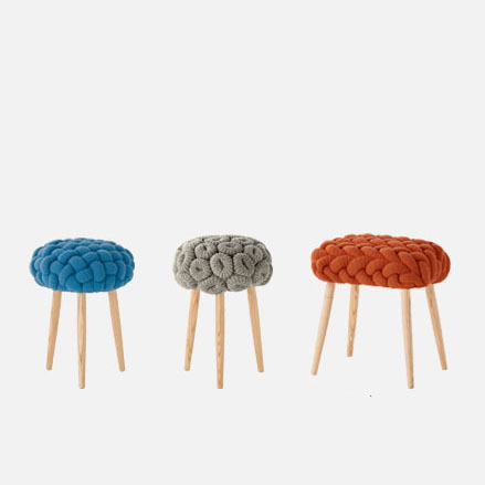 Knitted Stool ...