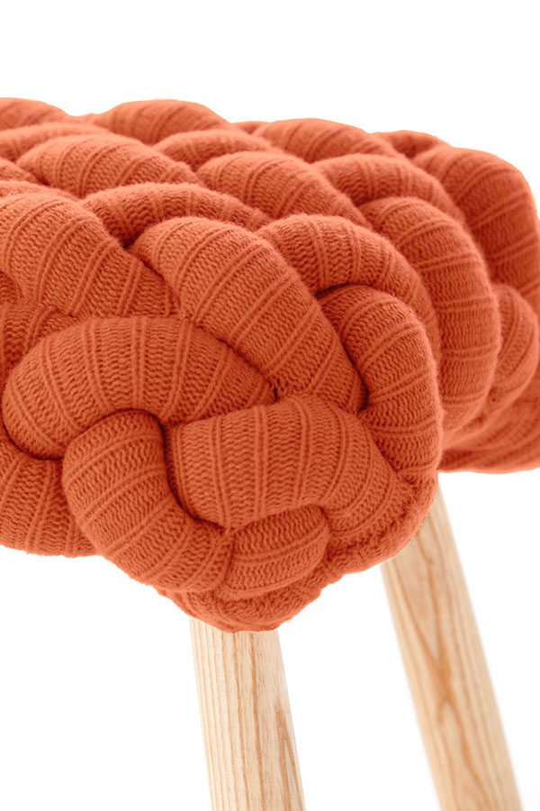 Knitted Stool Knitted Stool ...