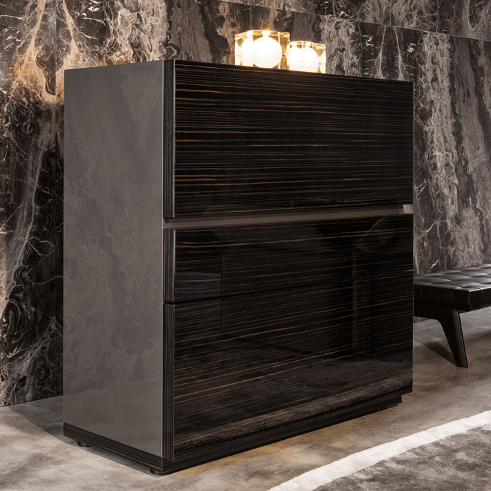 minotti lang bar cabinet orange skin. Black Bedroom Furniture Sets. Home Design Ideas