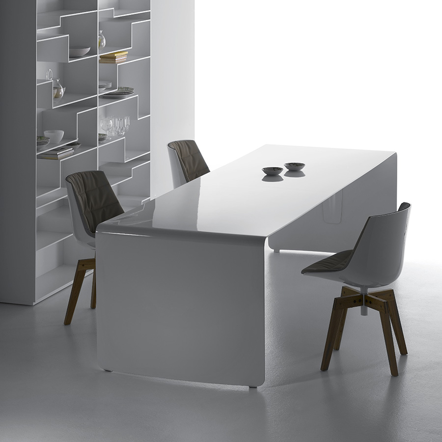 La Grande Table | Designed by Xavier Lust, MDF Italia, Orange Skin