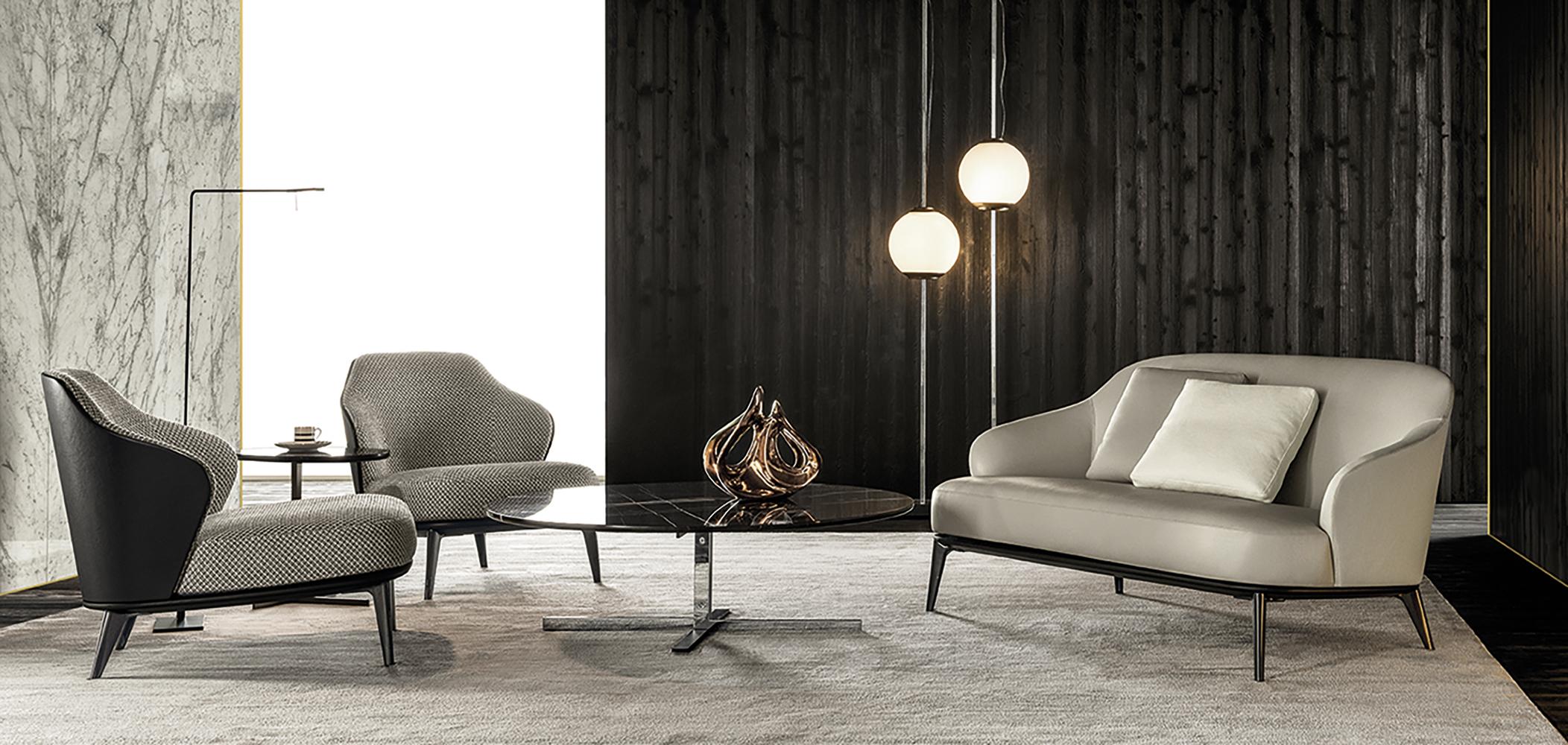 Leslie Armchair Designed By Rodolfo Dordoni Minotti