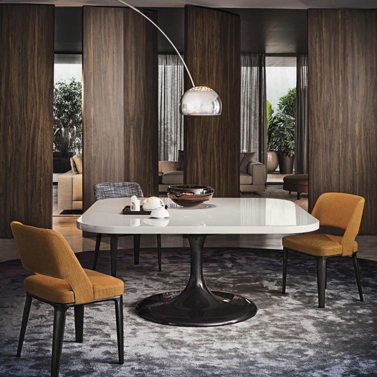 Neto Dining Table Designed By Rodolfo Dordoni Minotti