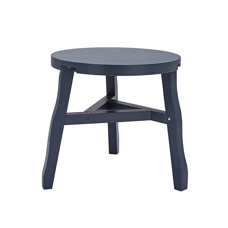 Offcut Side Table Designed By Tom Dixon Orange Skin
