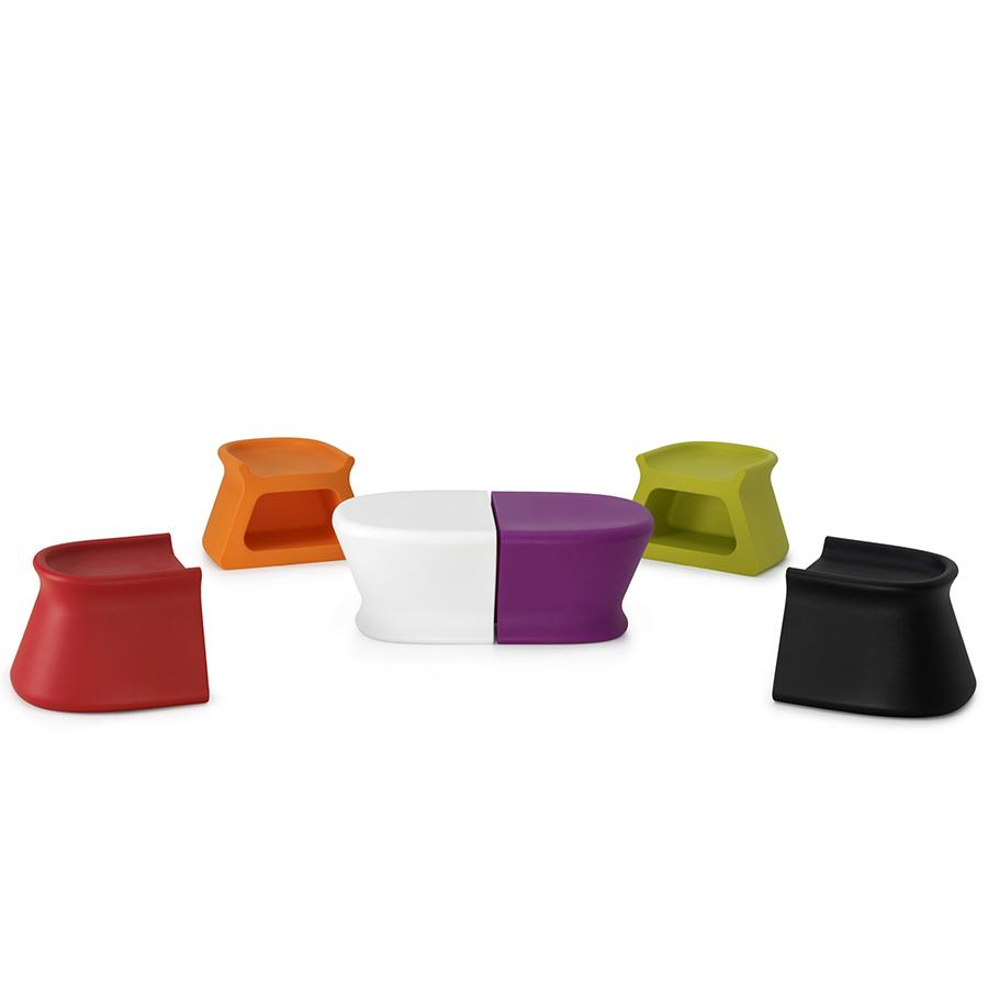 Pal Coffee Table & Stool | Designed by Karim Rashid, Vondom ...
