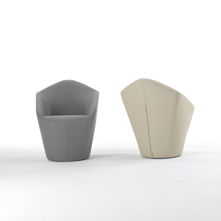 Penta Chair Designed By Toan Nguyen Viccarbe Orange Skin