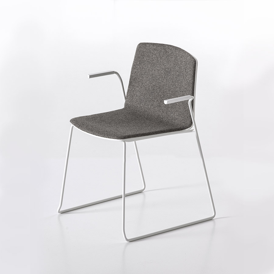 Rama Chair Slide frame | Designed by Ramos Bassols, Kristalia ...