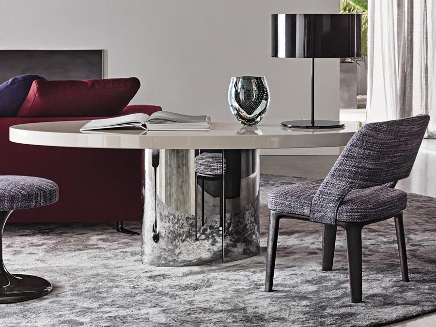 Raymond Table Designed By Rodolfo Dordoni Minotti