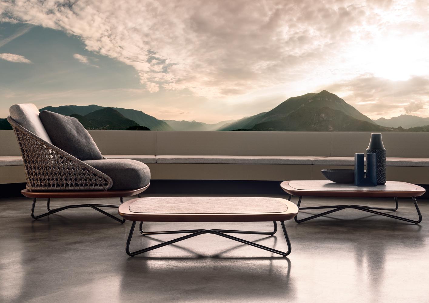 rivera pouf designed by rodolfo dordoni minotti orange. Black Bedroom Furniture Sets. Home Design Ideas