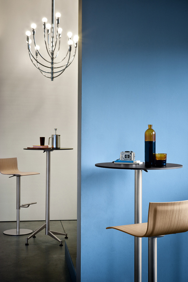 Seltz Table Designed By Romano Marcato Lapalma Orange Skin