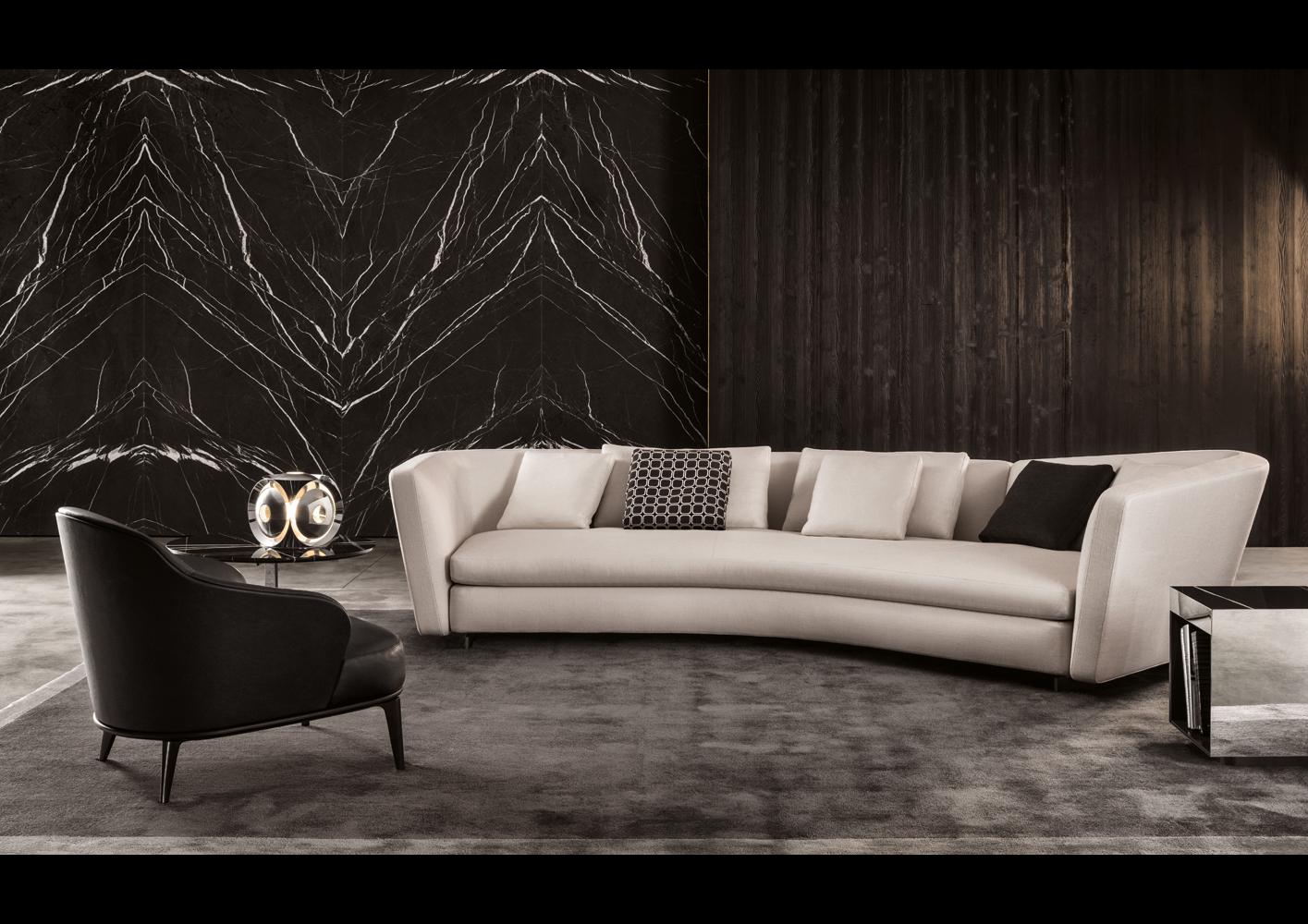 seymour sofa designed by rodolfo dordoni minotti. Black Bedroom Furniture Sets. Home Design Ideas