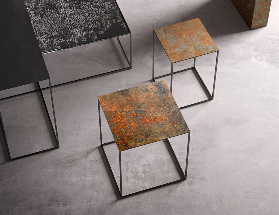 Slim Irony Art Table Designed By Maurizio Peregalli