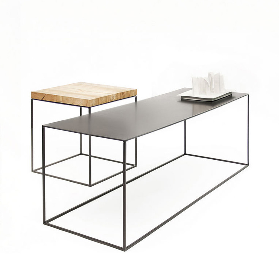 Slim Irony Table  Designed by Maurizio Perigalli, Zeus