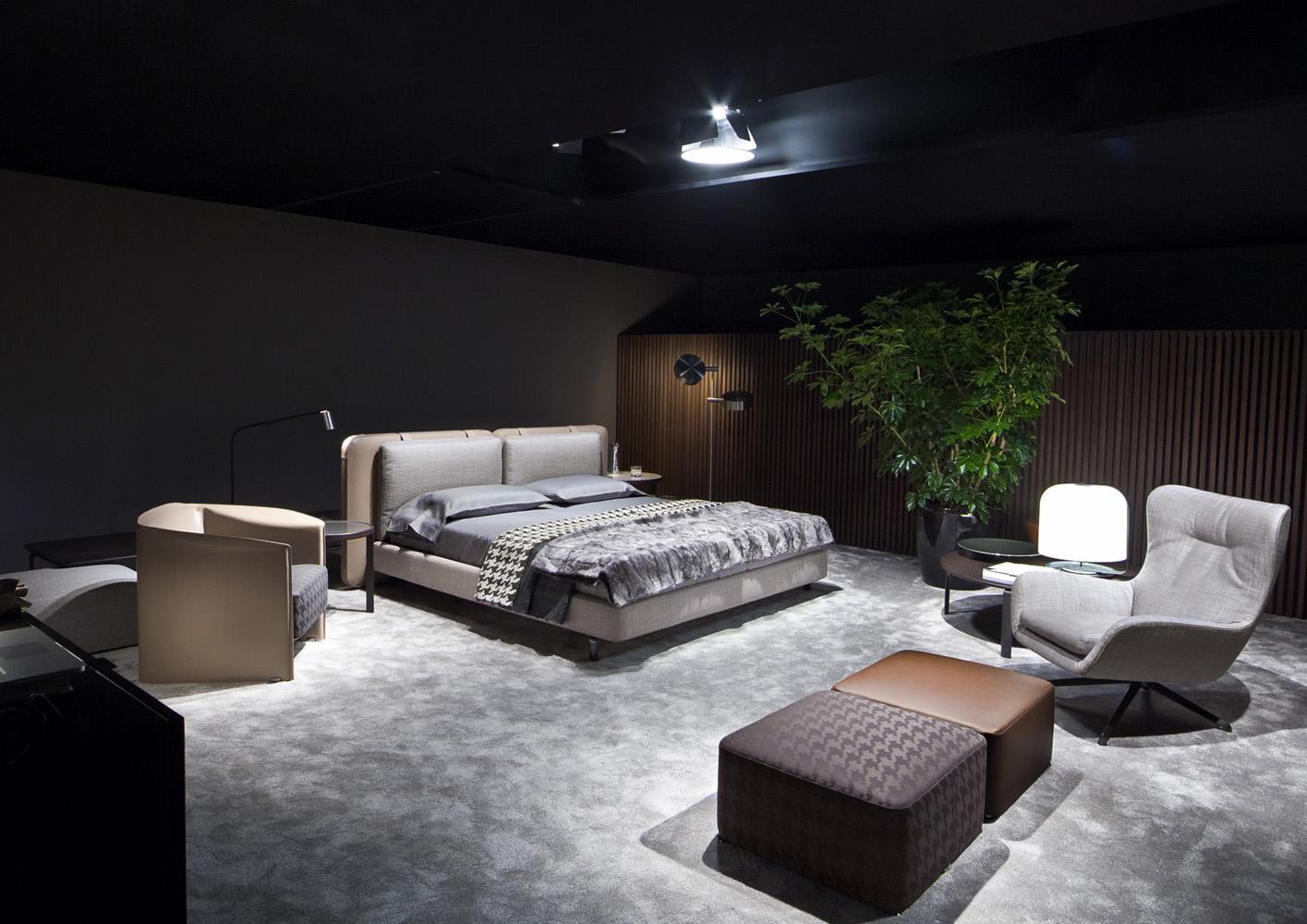 Tatlin Soft Bed Designed By Rodolfo Dordoni Minotti