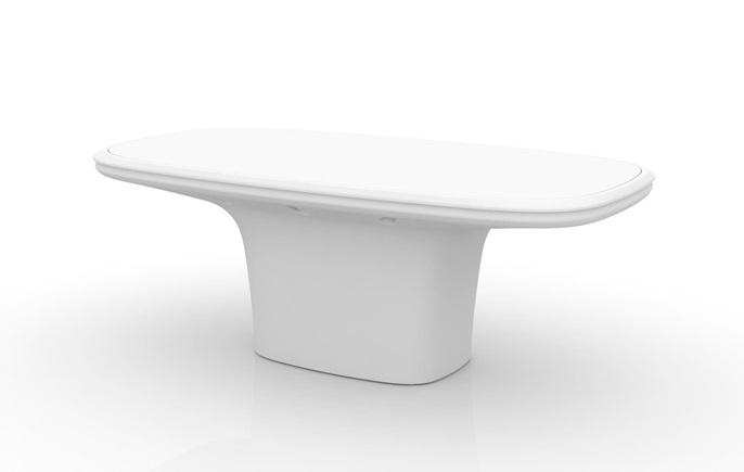 Ufo table designed by ora ito vondom orange skin for Table ora ito