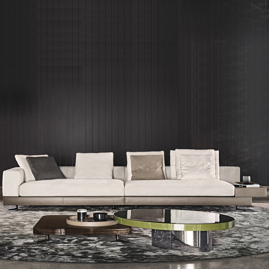 Brilliant White Saddle Hide Base Sofa Designed By Rodolfo Dordoni Caraccident5 Cool Chair Designs And Ideas Caraccident5Info