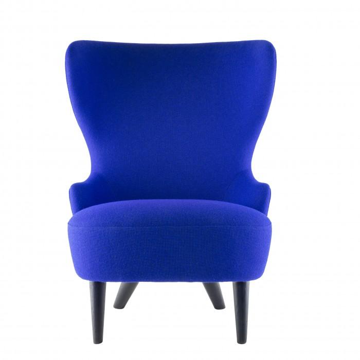 Wingback Micro Chair Designed By Tom Dixon Orange Skin - Tom dixon wingback chair