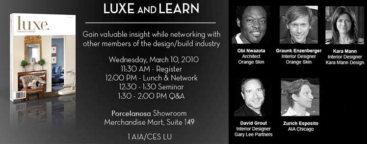 Luxe and Learn Seminar Event Gallery