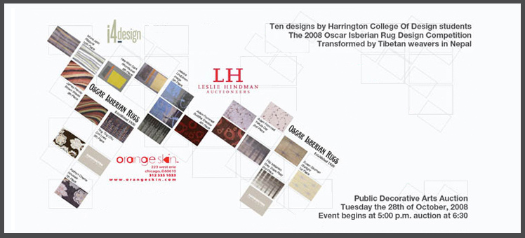 HARRINGTON COLLEGE OF DESIGN RUG AUCTION EVENT GALLERY