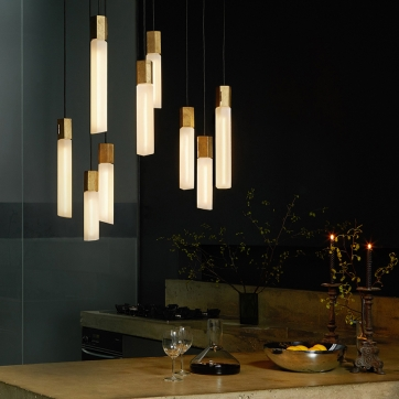 Basalt Ceiling Light