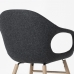 Elephant Chair Wooden Base