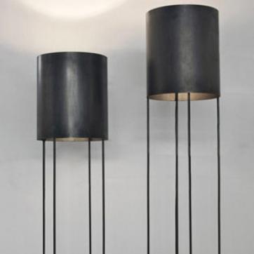 Istanbul Floor Lamp | Designed by Maurizio Peregalli, Zeus, Orange Skin