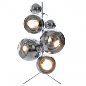 Mirror Ball Tripod Light