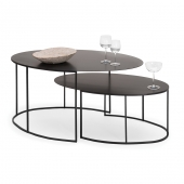 Slim Irony Oval Table