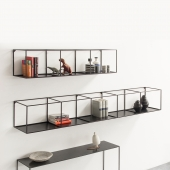 Slim Irony Wall Rack