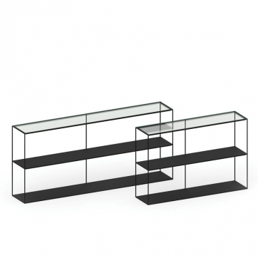 Slim Irony Sideboard Glass