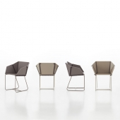 Silla Textile Dining Chair