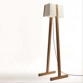 Birdhouse Floor Lamp